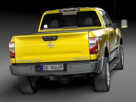 HQ Lowpoly Nissan Titan XD 2016 Image 6
