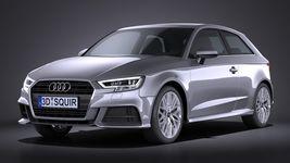 Audi A3 2017 3-door Image 1