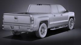 Chevrolet Silverado Double Cab 2016 VRAY Image 12