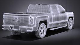 Chevrolet Silverado Double Cab 2016 VRAY Image 14