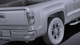 Chevrolet Silverado Double Cab 2016 VRAY Image 11