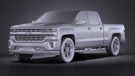 Chevrolet Silverado Double Cab 2016 VRAY Image 9