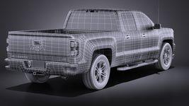 Chevrolet Silverado Double Cab 2016 VRAY Image 16