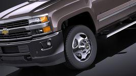 Chevrolet Silverado HD 2015 long VRAY Image 3
