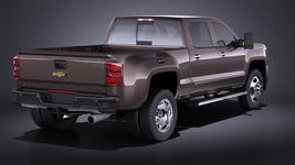 Chevrolet Silverado HD 2015 long VRAY Image 6
