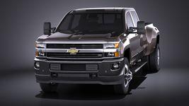 Chevrolet Silverado HD 2015 long VRAY Image 2