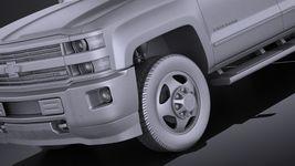 Chevrolet Silverado HD 2015 long VRAY Image 10