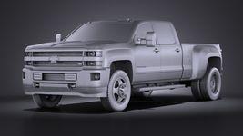 Chevrolet Silverado HD 2015 long VRAY Image 9