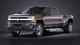 Chevrolet Silverado HD 2015 long VRAY Image 1