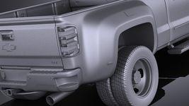 Chevrolet Silverado HD 2015 long VRAY Image 11