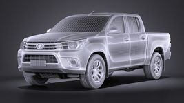 Toyota Hilux Double Cab 2016 base Image 13