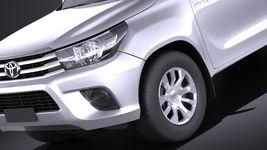 Toyota Hilux Double Cab 2016 base Image 3