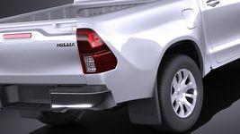Toyota Hilux Double Cab 2016 base Image 4