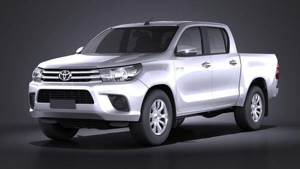 Toyota Hilux Double Cab 2016 base Image 1