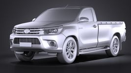 Toyota Hilux Regular Cab 2016 Image 9