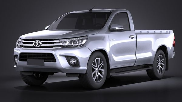 Toyota Hilux Regular Cab 2016 Image 1