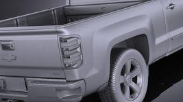 Chevrolet Silverado 1500 Double Cab 2015 VRAY Image 11