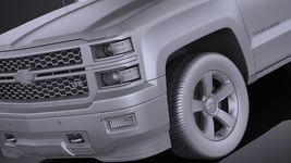 Chevrolet Silverado 2014 Regular Cab VRAY Image 10