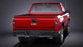 Chevrolet Silverado 2014 Regular Cab VRAY Image 5