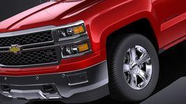 Chevrolet Silverado 2014 Regular Cab VRAY Image 3