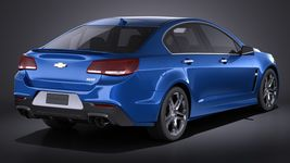 Chevrolet SS 2016 VRAY Image 6