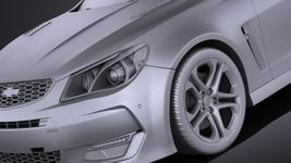 Chevrolet SS 2016 VRAY Image 10