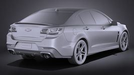 Chevrolet SS 2016 VRAY Image 12