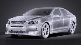 Chevrolet SS 2016 VRAY Image 13