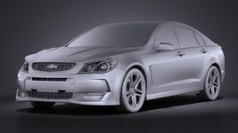 Chevrolet SS 2016 VRAY Image 9