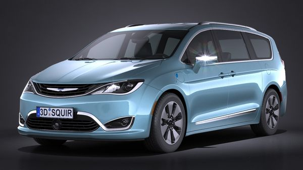 Chrysler Pacifica 2017 Image 1