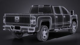 Chevrolet Silverado HD 2017 Image 14