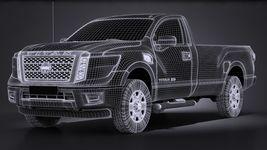 Nissan Titan Single Cab Regular 2017 Image 13
