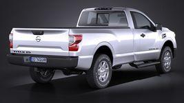 Nissan Titan Single Cab Regular 2017 Image 6