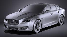 Jaguar XJR 2016 VRAY Image 9