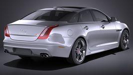 Jaguar XJR 2016 VRAY Image 6