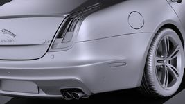 Jaguar XJR 2016 VRAY Image 11