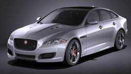 Jaguar XJR 2016 VRAY Image 1