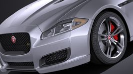 Jaguar XJR 2016 VRAY Image 3