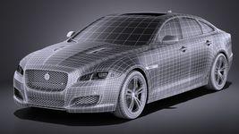 Jaguar XJR 2016 VRAY Image 15