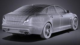 Jaguar XJR 2016 VRAY Image 16