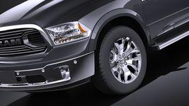 Dodge RAM 1500 Laramie Limited 2015 VRAY Image 3