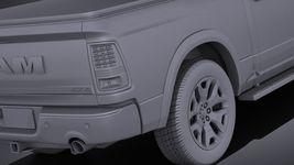 Dodge RAM 1500 Laramie Limited 2015 VRAY Image 11