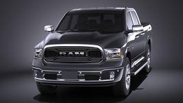 Dodge RAM 1500 Laramie Limited 2015 VRAY Image 2