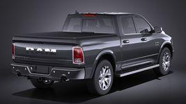 Dodge RAM 1500 Laramie Limited 2015 VRAY Image 6