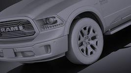 HQ LowPoly Dodge RAM 1500 Laramie Limited 2015 VRAY Image 10