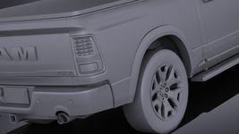 HQ LowPoly Dodge RAM 1500 Laramie Limited 2015 VRAY Image 11