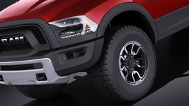 Dodge Ram 1500 Rebel 2015 VRAY Image 3