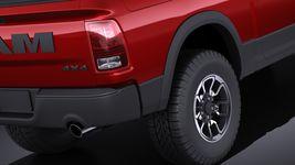 Dodge Ram 1500 Rebel 2015 VRAY Image 4