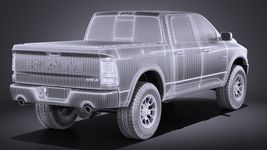 Dodge Ram 1500 Rebel 2015 VRAY Image 16