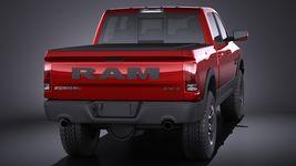 Dodge Ram 1500 Rebel 2015 VRAY Image 5